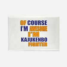 I Am Awesome Kajukenbo Martial Ar Rectangle Magnet