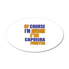 I Am Awesome Capoeira Martia Wall Decal