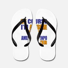 I Am Awesome American Kenpo Martial Art Flip Flops