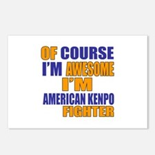 I Am Awesome American Ken Postcards (Package of 8)