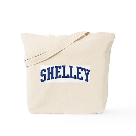 SHELLEY design (blue) Tote Bag