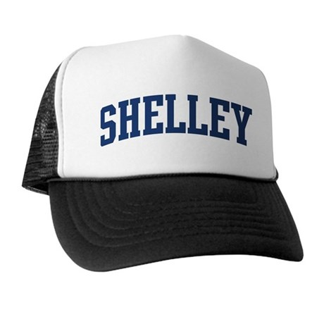 SHELLEY design (blue) Trucker Hat