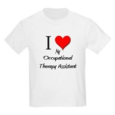 I Love My Occupational Therapy Assistant T-Shirt