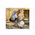 Domestic Flights Three Postcards (Package of 8)