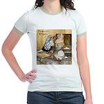 Domestic Flights Three Jr. Ringer T-Shirt