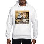 Domestic Flights Three Hooded Sweatshirt
