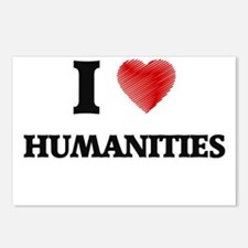 I Love Humanities Postcards (Package of 8)