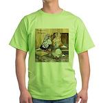 Domestic Flights Three Green T-Shirt