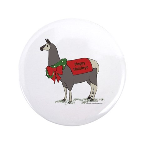 "Holiday Llama 3.5"" Button"