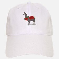 Holiday Llama Cap