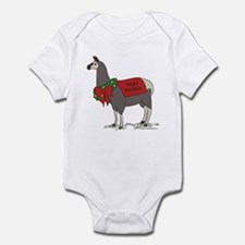 Holiday Llama Infant Bodysuit