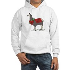 Holiday Llama Hoodie