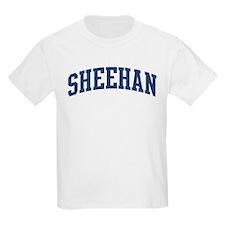 SHEEHAN design (blue) T-Shirt