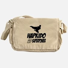 Hapkido Is My Superpower Messenger Bag