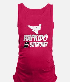 Hapkido Is My Superpower Maternity Tank Top