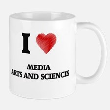 I Love Media Arts And Sciences Mugs