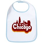 Retro Chicago Bib
