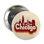 "Retro Chicago 2.25"" Button (100 pack)"
