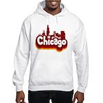 Retro Chicago Hooded Sweatshirt