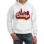 Retro Chicago Hooded Sweatshirt