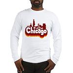Retro Chicago Long Sleeve T-Shirt