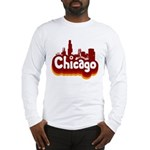 Retro Chicago Long Sleeve T-Shirt