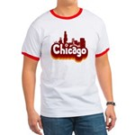 Retro Chicago Ringer T