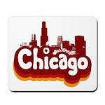 Retro Chicago Mousepad
