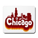 Retro Chicago Mousepad