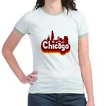 Retro Chicago Jr. Ringer T-Shirt