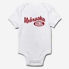 Nebraska Girl Infant Bodysuit
