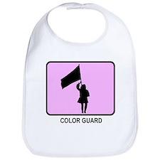 Color Guard (pink) Bib