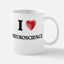 I Love Neuroscience Mugs