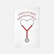Wear My Heart Area Rug