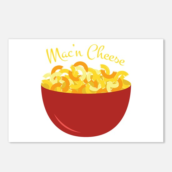 Mac N Cheese Postcards (Package of 8)