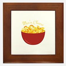 Mac N Cheese Framed Tile