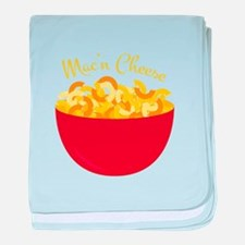 Mac N Cheese baby blanket