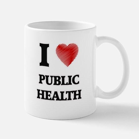 I Love Public Health Mugs
