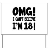 18th birthday Yard Signs