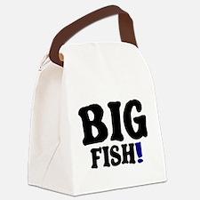 BIG FISH! Canvas Lunch Bag