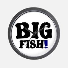 BIG FISH! Wall Clock