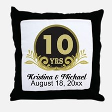 10th Anniversary Personalized gift idea Throw Pill