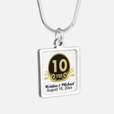 10th Anniversary Personalized gift idea Necklaces