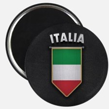 Italy Pennant with high quality leather lo Magnets