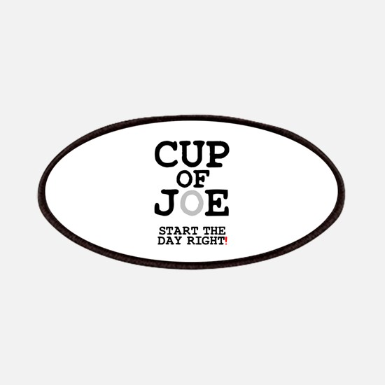CUP OF JOE - START THE DAY RIGHT! Patch