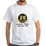 Anniversary Mens White T-shirts