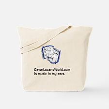 Dawnlucansworld.com Music Tote Bag