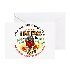 Little Imps Greeting Card