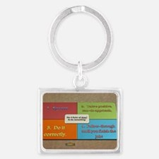 6th Quote; The 4 Rules of How to do Some Keychains