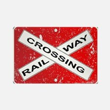 Railway Crossing Sign Magnets